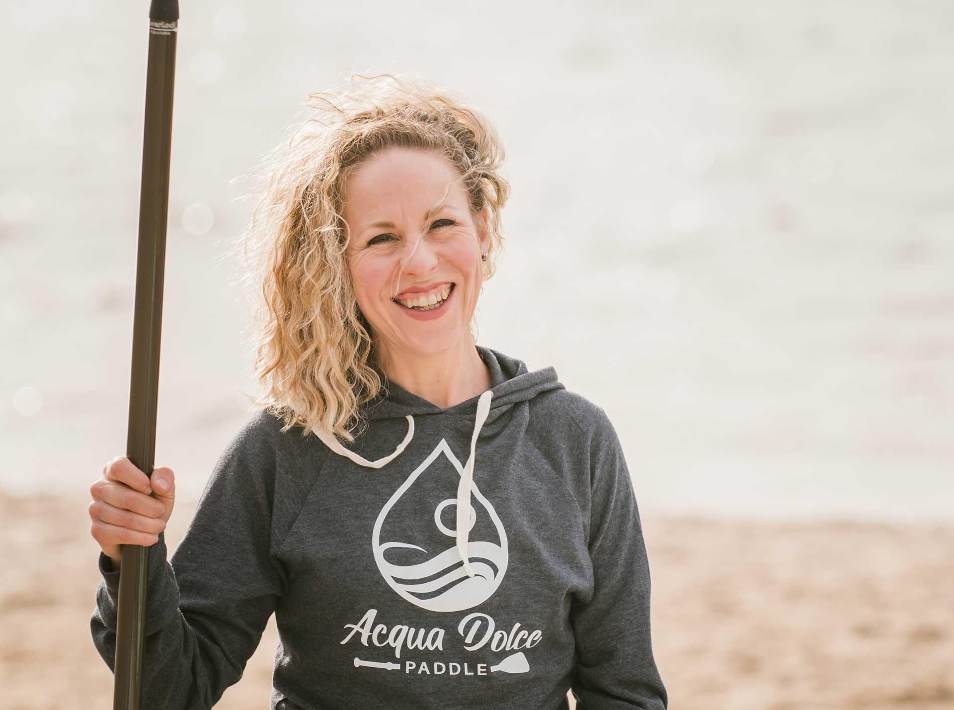 Acqua Dolce Paddle Holli Harvey Founder
